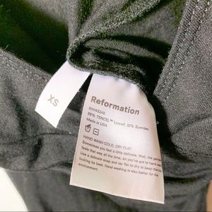Reformation Tops - Reformation Black Bodysuit XS